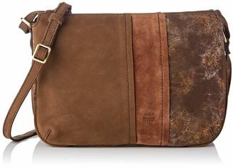 Mila Louise Women's 3261CVM Cross-Body Bag Brown Brown (CANNELLE 57)