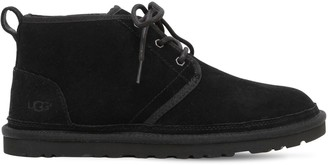 UGG Mini Classic Shearling Lace-up Boots