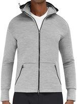 EFM Men's Nomadic Hooded Zip Track Jacket - Grey Heather