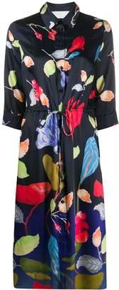 Peter Pilotto floral-print shirt dress