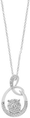 Effy Bouquet 14K White Gold Diamond Pendant Necklace