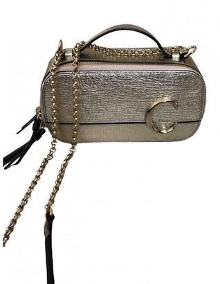 Chloé C Metallic Leather Handbags