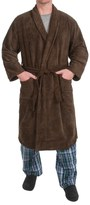 Specially made Plush Shawl Collar Robe - Long Sleeve (For Men)