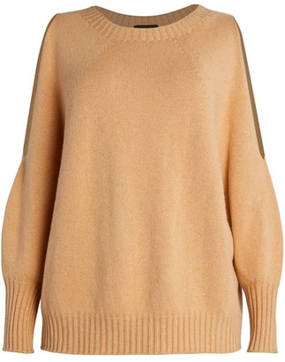 Peserico Cold Shoulder Sweater