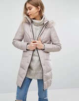 Warehouse Side Detail Padded Coat