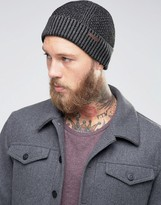 Ted Baker Beanie Hat Waffle Knit