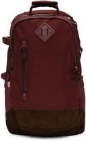 Visvim Burgundy Ballistic 20l Backpack
