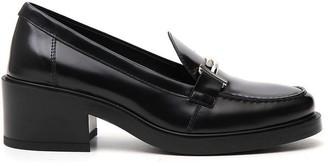 Tod's Block Heel Loafers