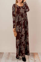 Chris & Carol Romantic Floral Maxi