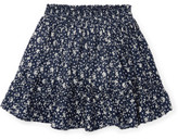 Polo Ralph Lauren Floral Cotton Pull-On Skirt (8-14 Years)