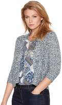 M&Co Petite multi yarn cardigan