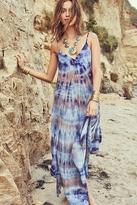Blue Life Scarf Dress in Riptide Tie Dye