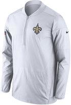 Nike Men's New Orleans Saints Lockdown Half-Zip Pullover