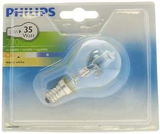 Philips EcoClassic Lustre lamp Halogen lustre bulb - halogen bulbs (Lustre, E14, Clear, D, Warm white, Hg (mercury))