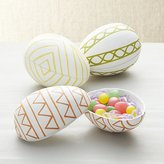 Crate & Barrel Easter Egg Boxes