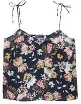 Violeta BY MANGO Flowy floral top