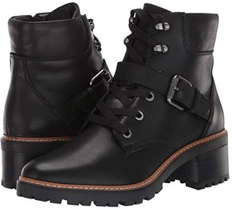 Naturalizer Tia (Black Leather) Women's Boots