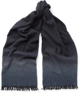 Bottega Veneta - Dégradé Cashmere And Wool-blend Scarf