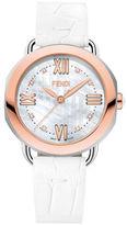 Fendi Selleria Diamonds Two-Tone Stainless Steel Watch, F8062345A4D1