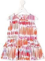 Il Gufo ruffle printed blouse