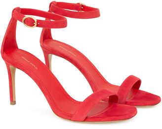 Mansur Gavriel Ankle Strap Suede Sandal