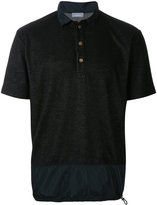 Kolor drawstring hem polo shirt - men - Cotton/Polyester - 3
