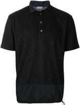 Kolor drawstring hem polo shirt