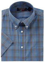 Roundtree & Yorke Big & Tall Travel Smart Short-Sleeve Sportshirt
