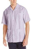 Cubavera Men's Short-Sleeve 100% Linen Guayabera