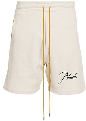 Rhude Cotton Jogger Shorts