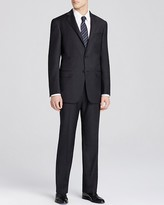 Hart Schaffner Marx Platinum Label New York Solid Classic Fit Suit - Bloomingdale's Exclusive