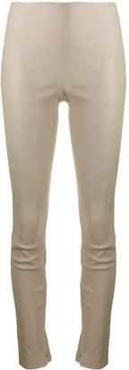 Theory zipped ankle trousers