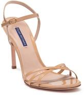 Stuart Weitzman Starla Patent Leather Stiletto Sandal