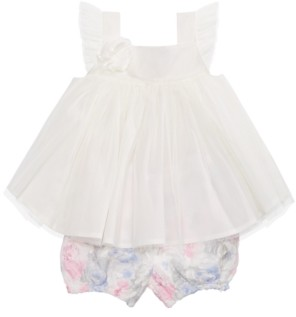 First Impressions Baby Girls 2-Pc. Rosette Tunic & Bloomers Set, Created for Macy's