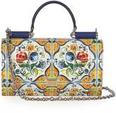 Dolce & Gabbana Von Majolica print cross-body bag