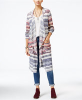American Rag Striped Duster Cardigan, Only at Macy's