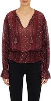 Ulla Johnson WOMEN'S ELKE EMBROIDERED GEORGETTE BLOUSE
