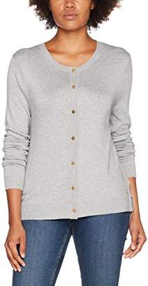 Tom Tailor Women's Basic Cardigan Light Silver Grey 2973, Large