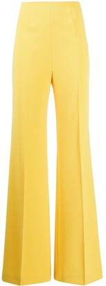 Moschino high-waisted palazzo trousers
