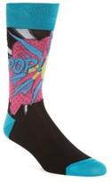 Bugatchi Men's Pop Crew Socks