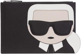 Karl Lagerfeld Paris K/Ikonik Clutch Bag