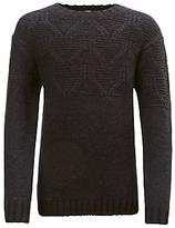 John Lewis Boys' Crew Neck Knit Jumper, Black