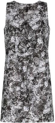 PASKAL clothes Lunar print front detail dress