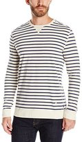 Nautica Men's Slim Fit Striped Long Sleeve Shirt