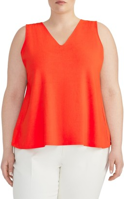Rachel Roy V-Neck Knit Swing Top (Plus Size)