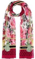 Dolce & Gabbana Printed silk crêpe scarf