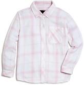Rails Girls' Plaid Twill Shirt - Sizes 4-12