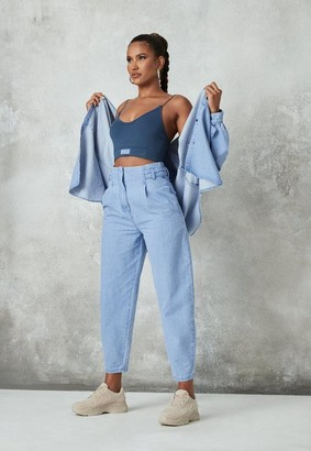 Missguided Co Ord Tab Detail Slouch Jeans