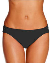 Hula Honey Juniors Malibu Side-Tab Hipster Bikini Bottoms, Created for Macy's Women's Swimsuit