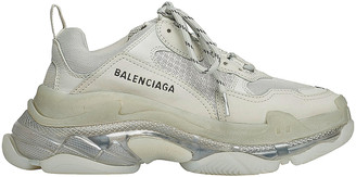 Balenciaga Triple S Sneakers in Pearl Grey | FWRD
